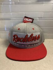 YOUNG & RECKLESS LETTERMAN ADJUSTABLE ONE SIZE FLAT BILL BALL CAP HAT NWT