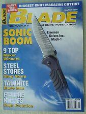 Rivista/magazine coltelli/lame ''Blade'' (MARCH 2000)