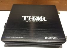 THOR 1500 Power Inverter  not working  For parts or Rebuild