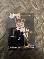 1992 Shaquille O'Neal Upper Deck Rookie #1 Draft Pick Shaq Attack!