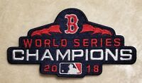 Boston Red Sox 2018 World Series Champions Iron /Sew On Embroidered Patch~