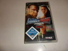 PLAYSTATION PORTABLE PSP WWE SmackDown vs. Raw 2009