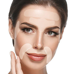 Blumbody Face Wrinkle Patches - 165 Facial Anti Wrinkle Patches for Smoothing or