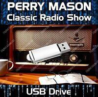 PERRY MASON - OLD TIME RADIO SHOW DRAMA USB - 255 EPISODES MP3