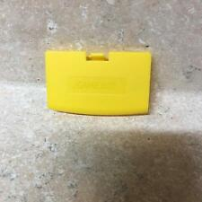 Replacement Nintendo Game Boy Advance Yellow Battery Cover