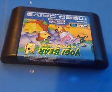 Boxed Sega Mega Drive Game- Yogi Bear Cartoon Capers - PAL Genesis MD