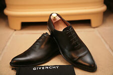 GIVENCHY Men's Made in Italy NOIR Chaussures Cuir Taille UK 8