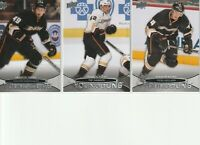 2011-12 Anaheim Ducks Upper Deck Young Guns Rookies - 3 Different Cards