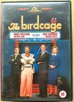 The Birdcage DVD 1995 LGBT Gay Interest Comedy w/ Robin Williams + Nathan Lane