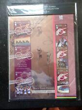 I.O.M. 2012 LONDON JEUX OLYMPIQUES médaille d'or Winners commémorative Sheetlet