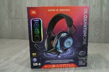 JBL Quantum ONE Wired Over-Ear Active Noise Cancelling Gaming Headset Headphone