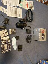 Panasonic LUMIX DMC-GH3 16.0MP Digital Camera - Black with lens and extras