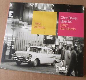 Gitanes Jazz in Paris 53 CD CHET BAKER QUARTET Plays Standards Barclay 84 017