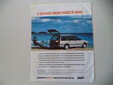 advertising Pubblicità 1988 AUSTIN ROVER MONTEGO ESTATE