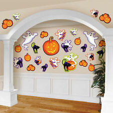 30 x Halloween Cutout Party Wall Decorations BUMPER PACK Cut Outs assorted Sizes