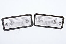 Genuine License Plate Light Lenses Pair Fits Audi A3 A4 A5 A6 C6 A8 D3 Q7 2001-