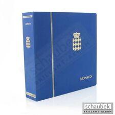 Schaubek KOA-818/01B Album Monaco 1945-1969 Brillant im Schraubbinder blau, Band