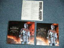 MICHAEL JACKSON Japan 1995 NM Gold 2 CD's +Book HISTORY