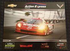 2015 Action Express Racing #31 Chevy Corvette DP Rolex 24 IMSA TUSC postcard
