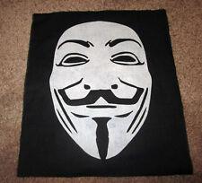 V For Vendetta Back Patch - Horror - Punk - Hardcore - Anarchy.