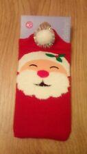 New Claire's Christmas Novelty Santa Phone Sock/Stocking Filler/Secret Santa