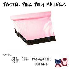 Pastel Pink Poly Mailers Shipping Envelope Packaging Bag Self Sealing Mailing