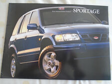 Kia Sportage range brochure Jul 2000 French text