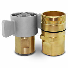 1 12 Npt Wet Line Wing Nut Hydraulic Quick Disconnect Coupler Coupling Set