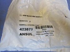 1 - Ansul Double Microswitch 423879. New in Package