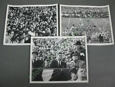 3 12/2/61 Abbie Rowe JFK Photo President John F Kennedy Army Navy Football Game