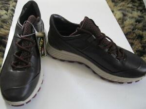 ECCO Exostrike $180 NEW Women Walking Hiking Casual Shoe Sneakers Yak (38) 8 M