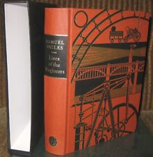 Folio Society LIVES OF THE ENGINEERS by Samuel Smiles, Excellent close to as New