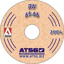 ATSG Borg Warner 65 66 Trans Rebuild Overhaul Service Shop Repair Manual CD