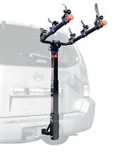3-BIKE TOW HITCH MOUNTED RACK, bicycle vehicle mount holder car suv truck towing