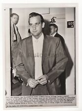 Jim Garrison Probe Witness Carlos Quiroga, JFK - Vintage Press Photo