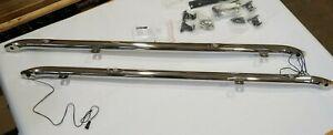 Genuine Nissan X-Trail T32 side running bars in chrome (Illuminated) KE543-4B03A