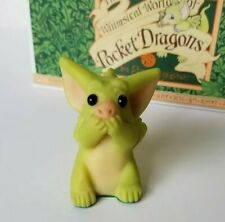 """""""Very Quiet"""" Whimsical World of Pocket Dragons by Real Musgrave with Box"""