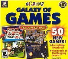 Galaxy of Games: Yellow Edition (PC, 2000) Windows 95/98