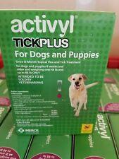 Activyl - Tick Plus Dog (45-88 lbs) 6 dose/ 6 Month Supply