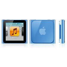 REFURBISHED Apple iPod Nano 16GB Blue 6th Generation Gen 6 i Pod 16 GB MP3 Video