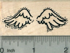 Angel Wings Rubber Stamp E29806 WM