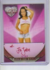 2013 Benchwarmer Eclectic Collection  Flo Jalin  Autograph Red Foil 1/1