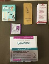 New 5pc Skin Care Samples, Exuviance, Benefit. Clarins