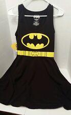 DC Comics Batman Black & Electric Yellow Cosplay Dress Size S NWT! Reg 35.00