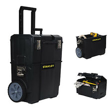 Portable Tool Box Organizer Rolling Toolbox Cart Mobile Chest Storage Stanley 1d