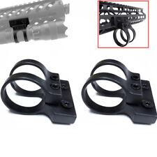 "1 Pc Keymod Offset 1"" inch Flashlight Mount Quad Rail Handguard"