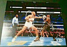 CONOR MCGREGOR UFC CHAMP IRISH KING SIGNED 8X10 PHOTO BECKETT BAS VS MAYWEATHER
