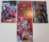 DEADPOOL LOT of 4 Comic book  #8  9  27  Variant #36 Sharp  NM- MARVEL COMICS