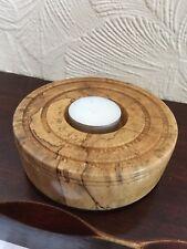 Ash Wood Tea Light Holder