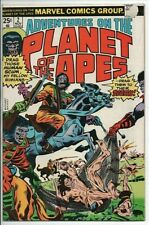 Marvel Comics Adventures on the Planet of the Apes #2 Nov. 1975 F-